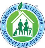 Removes 98% of Allergens and 89% Airborne Bacteria