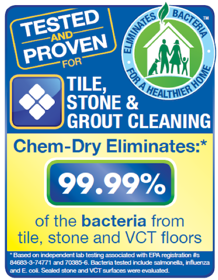 Stone, Tile and Grout Cleaning Provided by Crystal Chem-Dry on Long Island